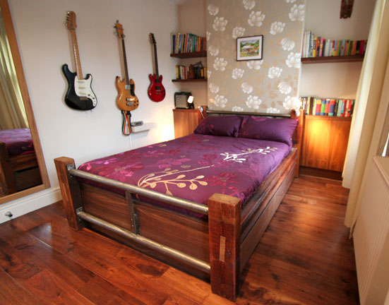 Reclaimed Timber Bed