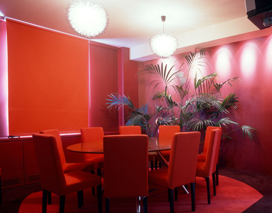Red Meeting Room