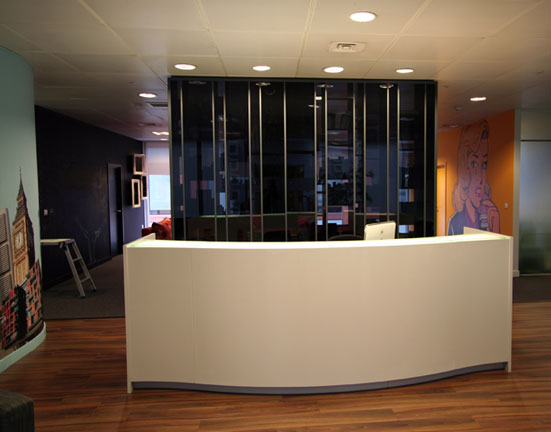 Reception Desk Close