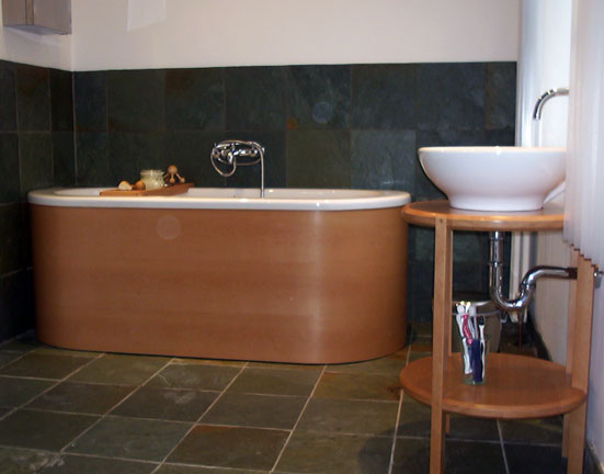 Steemed Beech Bath Surround