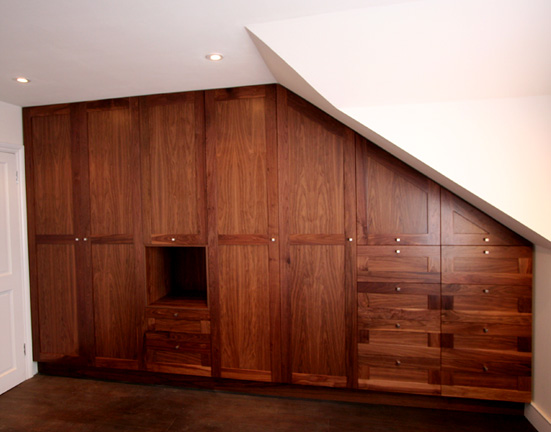 Solid Walnut Veneered Panels