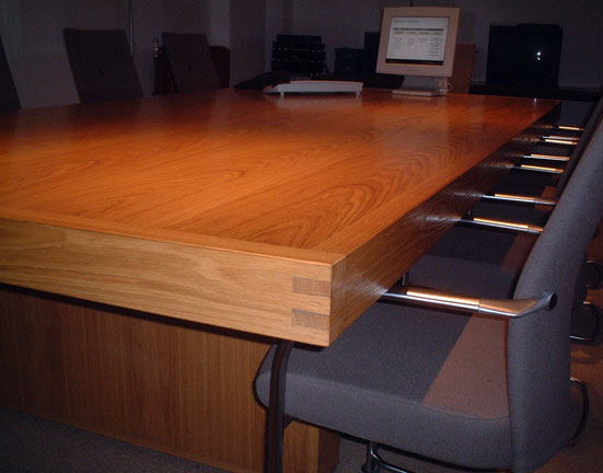 Conference Table Finger Jointed