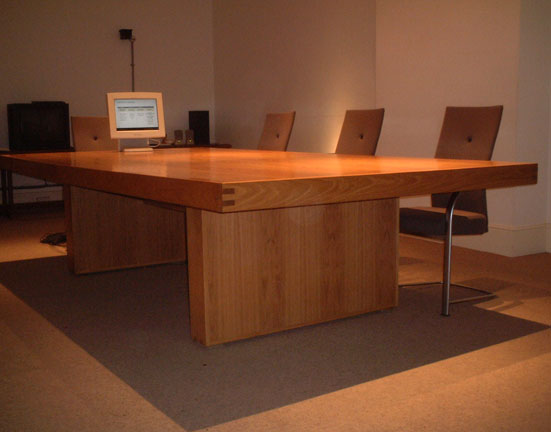 Conference Table Solid Oak