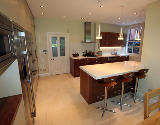 Fitted Kitchen Wooden Chairs